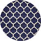 6' x 6' Lattice Round Rug thumbnail image 8