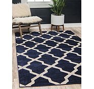 Link to Unique Loom 3' 3 x 5' 3 Trellis Rug