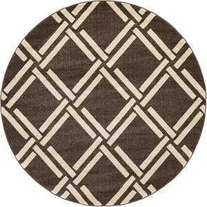 All Rounds Brown Clearance  Rugs
