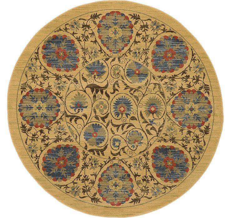 Unique Loom 6' x 6' Edinburgh Round Rug