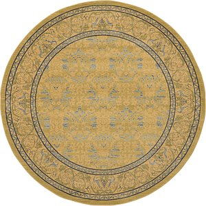 Link to 8' x 8' Kensington Round Rug page