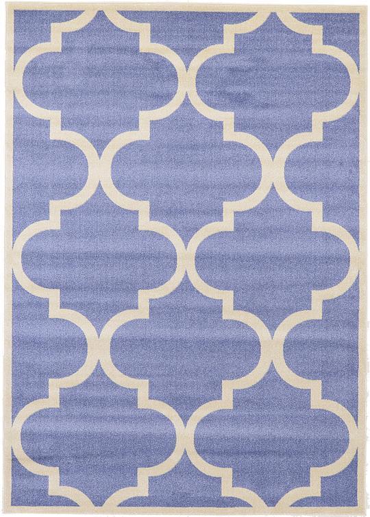 blue 7 x 10 trellis rug area rugs irugs uk