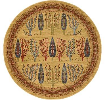 185x185 Kashkuli Gabbeh Rug