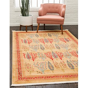 Unique Loom 6' x 9' Fars Rug