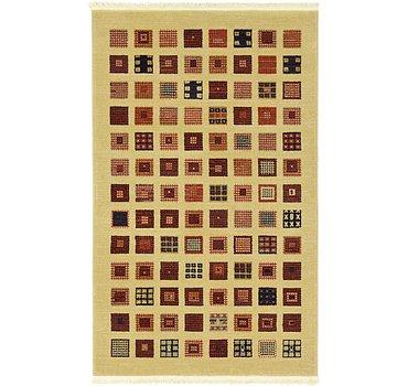 99x160 Kashkuli Gabbeh Rug