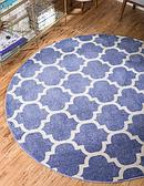 6' x 6' Lattice Round Rug thumbnail