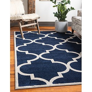 Unique Loom 6' x 9' Trellis Rug