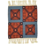 Link to 1' 3 x 1' 5 Kilim Dhurrie Square Rug