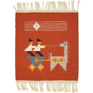 Unique Loom 1' 3 x 1' 6 Kilim Dhurrie Square Rug