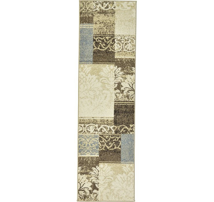 2' x 7' Patchwork Runner Rug