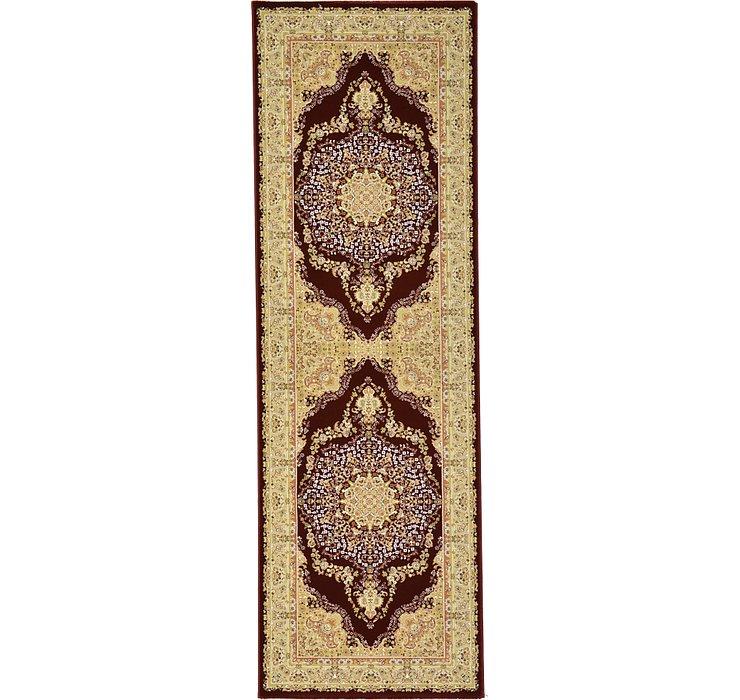 3' 3 x 9' 10 Tabriz Design Runner Rug
