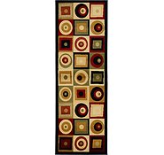 Link to 2' x 5' 8 Reproduction Gabbeh Runner Rug