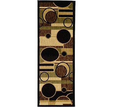 61x173 Reproduction Gabbeh Rug