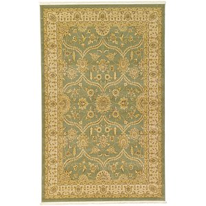 5x8 Green Kensington  Rugs