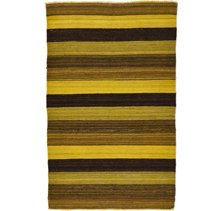 3' x 4' 10 Kilim Afghan Rug