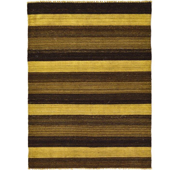 3' 6 x 4' 9 Kilim Afghan Rug