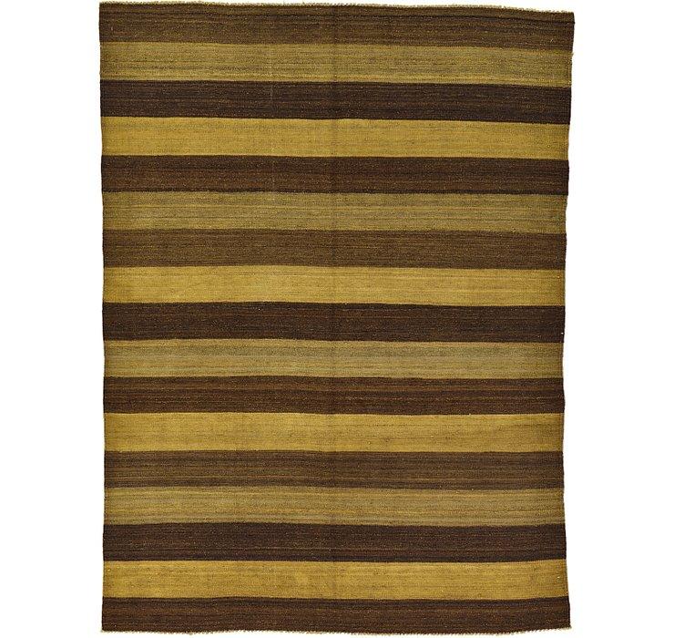 5' 1 x 6' 9 Kilim Afghan Rug