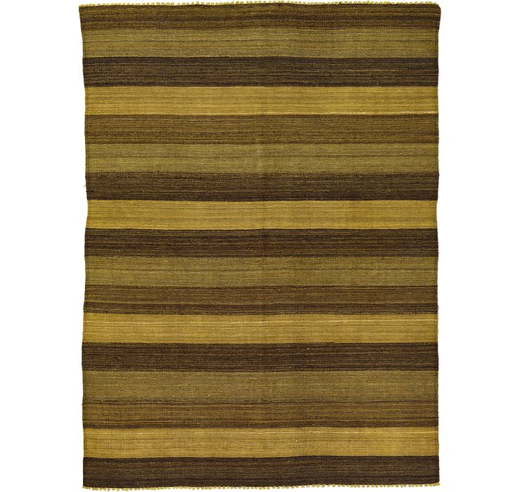157cm x 210cm Kilim Afghan Rug
