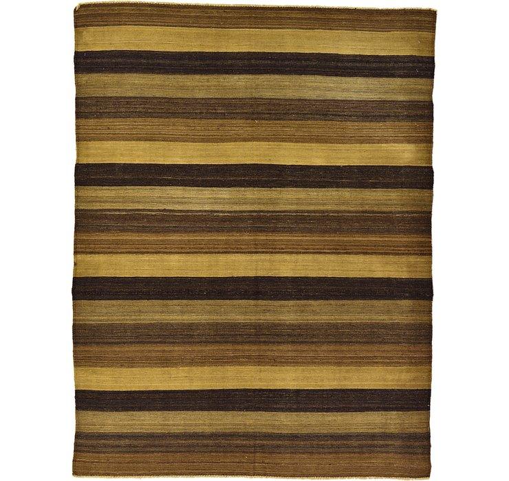 5' 2 x 6' 10 Kilim Afghan Rug