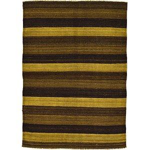 Unique Loom 3' 4 x 4' 9 Kilim Afghan Rug