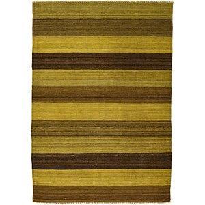 Unique Loom 3' 5 x 4' 10 Kilim Afghan Rug