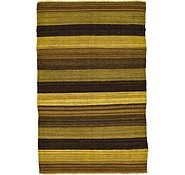 Link to 3' 1 x 4' 10 Kilim Afghan Rug