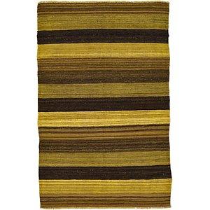 Unique Loom 3' 1 x 4' 10 Kilim Afghan Rug