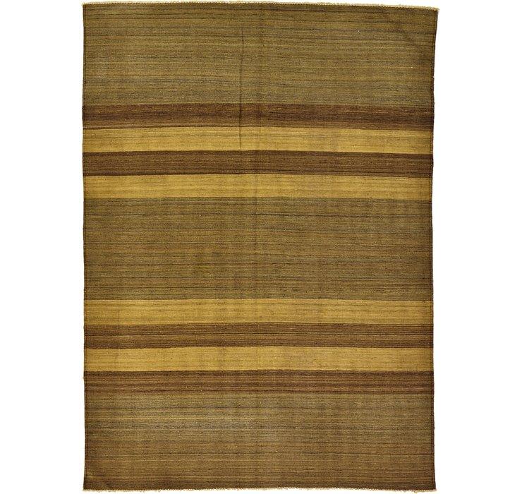 5' 1 x 6' 10 Kilim Afghan Rug