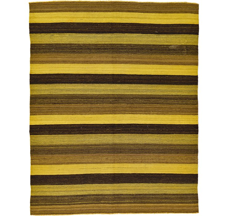 5' 2 x 6' 7 Kilim Afghan Rug