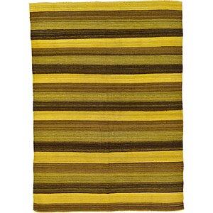 Unique Loom 4' 10 x 6' 8 Kilim Afghan Rug
