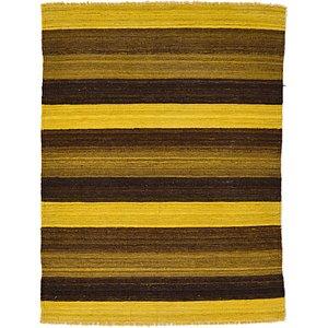 Unique Loom 3' x 3' 11 Kilim Afghan Rug