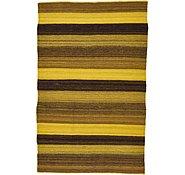 Link to 3' x 4' 8 Kilim Afghan Rug