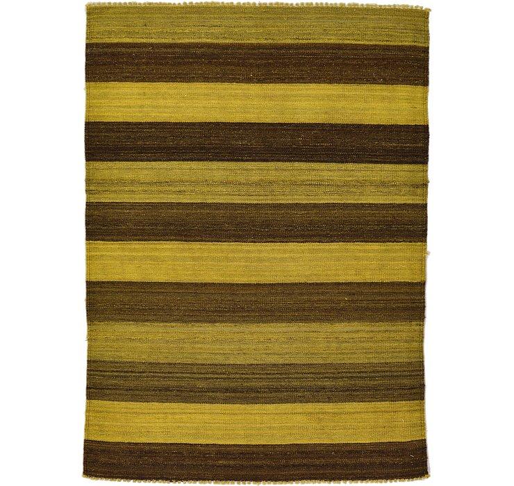3' 5 x 4' 10 Kilim Afghan Rug