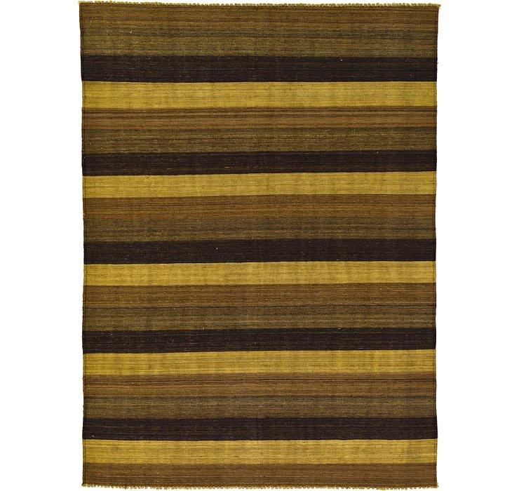 5' 1 x 6' 11 Kilim Afghan Rug