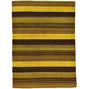 Unique Loom 3' 6 x 4' 10 Kilim Afghan Rug