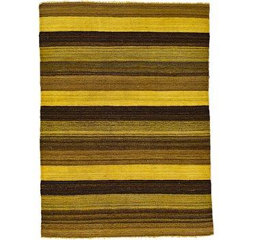 107x147 Kilim Afghan Rug