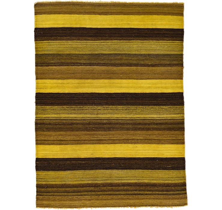3' 6 x 4' 10 Kilim Afghan Rug