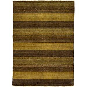 Unique Loom 3' 6 x 4' 9 Kilim Afghan Rug