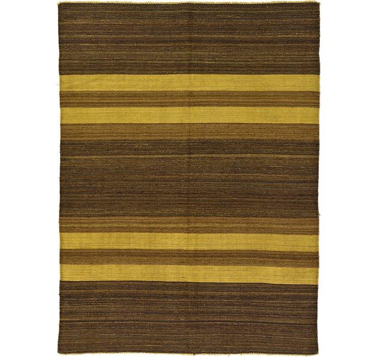5' x 6' 10 Kilim Afghan Rug