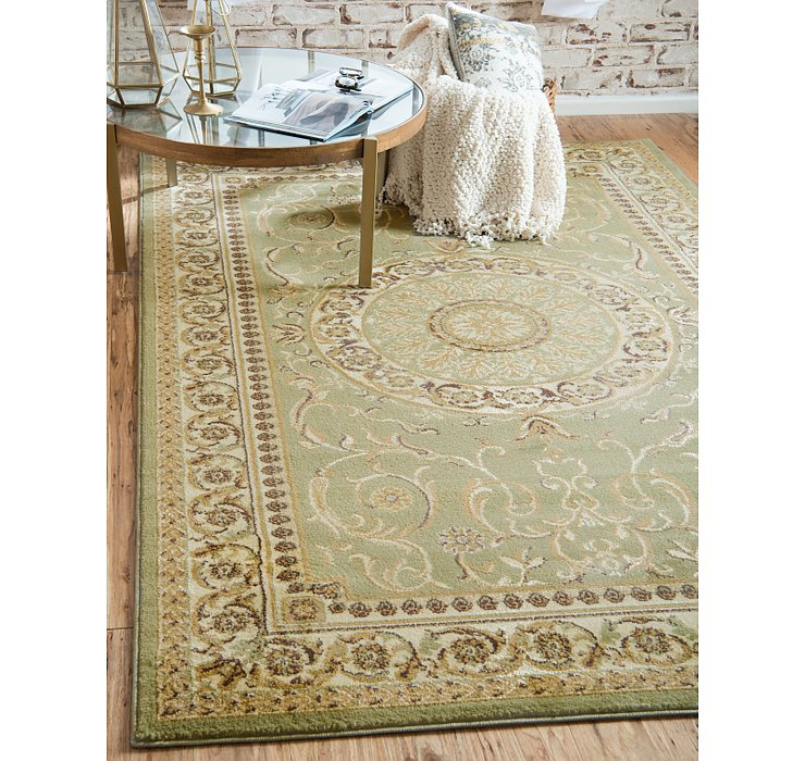 Light Green Chateau Rug
