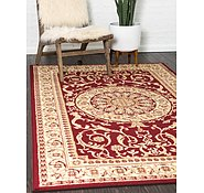 Link to Unique Loom 6' x 9' Versailles Rug