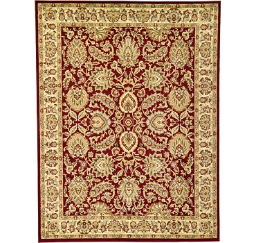 274x366 Classic Agra Rug
