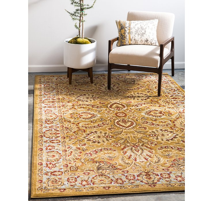 Dark Yellow Aditi Rug