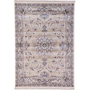 7' x 10' Tabriz Design Rug