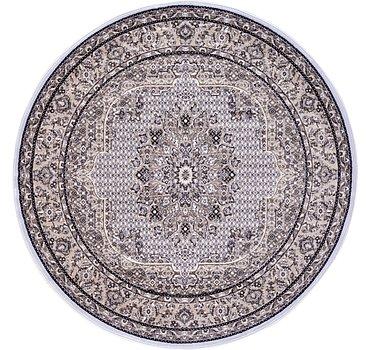 185x185 Tabriz Design Rug
