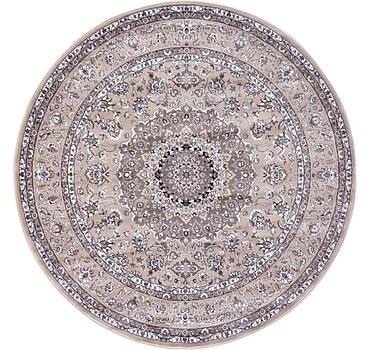 185x185 Kashan Design Rug