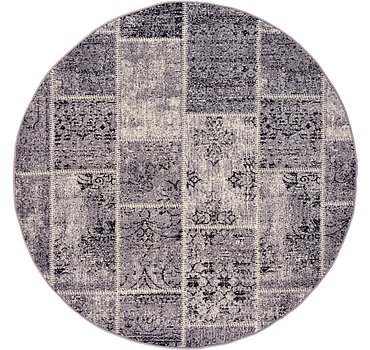 185x185 Patchwork Rug