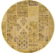 Link to 6' x 6' Patchwork Round Rug