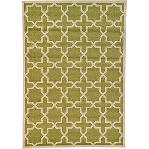 8x10 Green Trellis  Rugs!