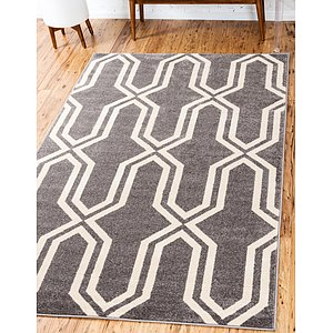 Unique Loom 4' x 6' Trellis Rug